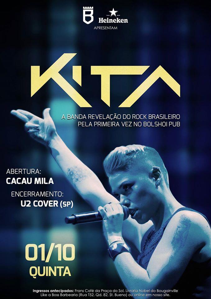 Kita + Cacau + U2